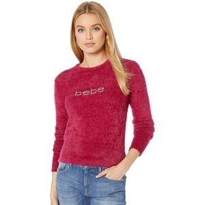 Bebe Eyelash logo sweater